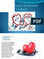 Rehabilitación de paciente cardiaco