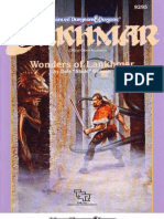 TSR 9295 LNR1 Wonders of Lankhmar