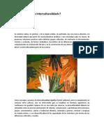 Multiculturalidad, Pluriculturalidad e Interculturalidad