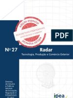 Relatorio IPEA Perspectivas Profissionais  Nivel medio e superior n. 27