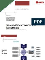 Administración Logística y Control de Inventarios Trabajo 1
