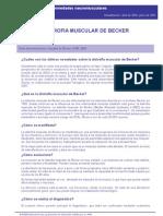 Distrofia Muscular Becker