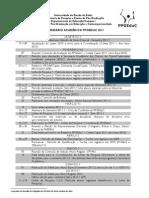 calendario_2011 mestrado UNEB educação