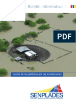 SENPLADES Costos de las pérdidas por las inundaciones