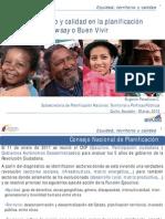 SENPLADES EquidadTerritorio y Calidad 2012