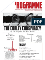 The Corley Conspiracy (Opera Programme 2007)