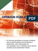 1) Opinion Publica