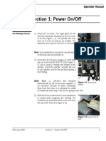 Power on Off Fadal