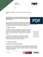 Comunicación Administradoras Res 444 de 2013