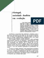 Sedas Nunes, Aderito. Portugal-Sociedade Dualista em Evolução