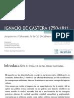 IGNACIO DE CASTERA Arquitecto y Urbanista de la cd. de México