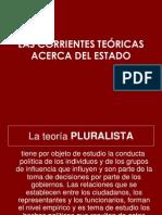 """LAS CORRIENTES TEÃ""""RICAS ACERCA DEL ESTADO"""