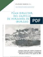 Plan Director del Castillo de Miranda de Ebro
