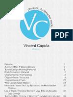 Vincent Caputa Portfolio