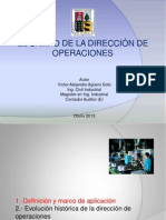 El campo de dirección de operaciones