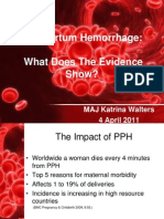 Walters - Postpartum Hemorrhage USAFP (FILEminimizer)