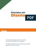 PRESENTACION PRINCIPIOS DEL DISEÑO