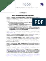CAPITULO VII Regla Cambio Institucion