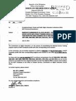 CHEDRO III Memorandum 85, s 2013