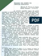 Viveiros de Castro - A Fabricacao Do Corpo Na Sociedade Xinguana