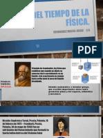 LINEA DEL TIEMPO DE LA FÍSICA
