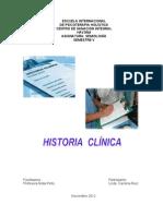 LA HISTORIA CLÍNICA ASPECTOS GENERALES