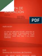 LA CAPA DE APLICACIÓN Redes 1