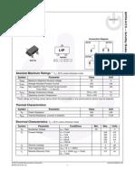 Fairchild Schottky Diodes BAT54 Datasheet