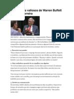 9 Conselhos Valiosos de Warren Buffett Para Sua Carreira