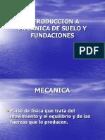 Introduccion a Mecanica de Suelo y Fundaciones