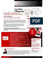 Power Speaking Skills Through Mind Mapping-One Pager