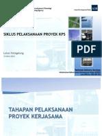 Siklus Pelaksanaan Kerjasama Pemerintah dan Swasta