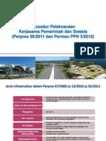 Prosedur Pelaksanaan Kerjasama Pemerintah dan Swasta