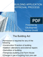 Building Application Approval Process From City Engineer