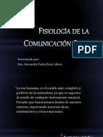 FISIOLOGÍA DE LA COMUNICACIÓN
