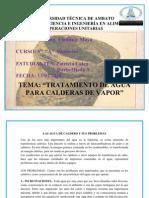 30715747 Las Agua de Caldero y Sus Problemas