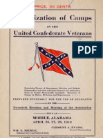 Organization of Camps in the United Confederate Veterans [1910]