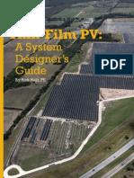 Thin-Film PV - A System Designer's Guide - SolarPro