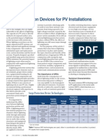 Surge Protection Devices for PV Installations - SolarPro