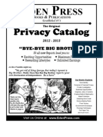 Eden Press Privacy Catalog