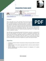 Rapid Integration Framework Using SAP