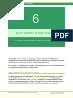 6 Steps to Design a Questionnaire