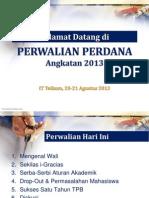 Perwalian Perdana 2013.ppt