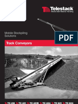 Telestack Tracked Conveyors Brochure | Containerization