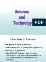 Science and Technology Online Lecture