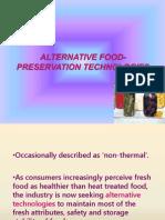 Alternative Food Preservation Tech