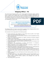 13878- Shipping Officer p2, Osls - Draft