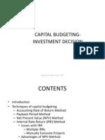 14120 Capital Budgeting