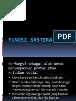 FUNGSI SASTERA