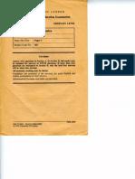 O' Level Mathematics Paper 3 June 76